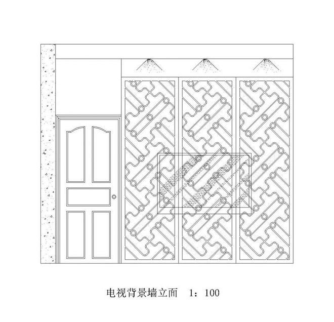 電視背景墻立面-鄭璐瑩的設計師家園-180544