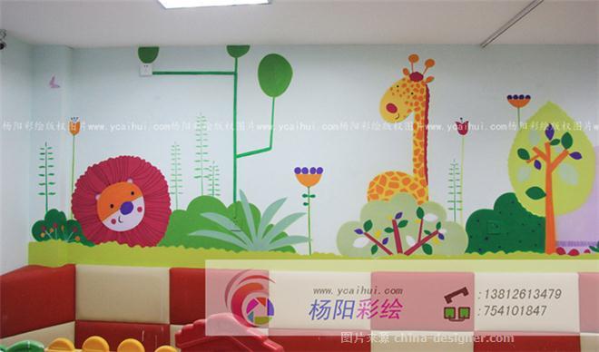幼儿园手绘墙,苏州墙体彩绘,亲子园壁画-苏州手绘墙的设计师家园-483