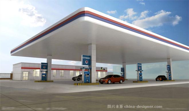 中海油加油站-邹雪峰的设计师家园-4677