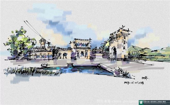 建筑手绘表现-北京壹木环境艺术工程设计机构的设计师家园-47554