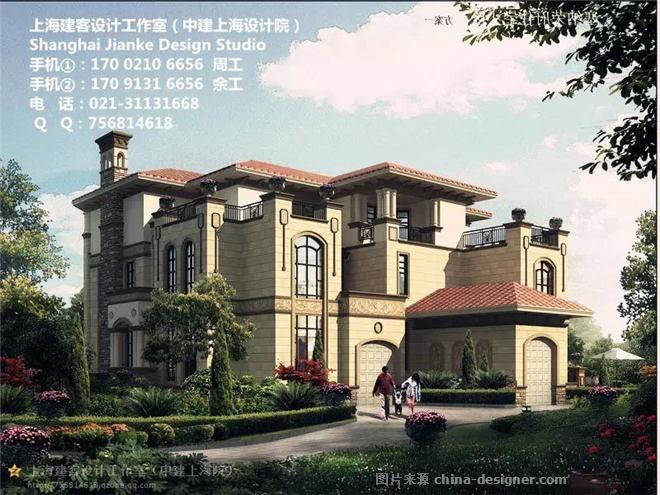 农村别墅外观效-别墅设计图纸及效果图大全的设计师家园-681722