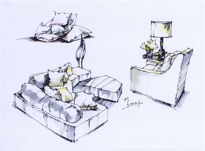 家具设计师速写_家具设计师速写分享展示