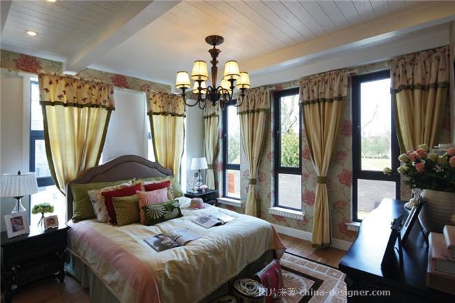 别墅装修设计-别墅伍禾一道装修设计-杨洋的设计师卧室-182426,7380家园钦州图片