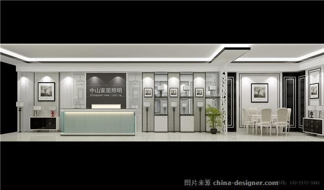 LED灯饰展厅设计图片