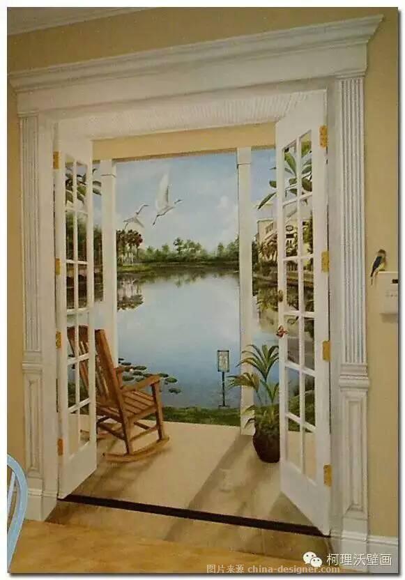 家居手绘墙画,墙体彩绘