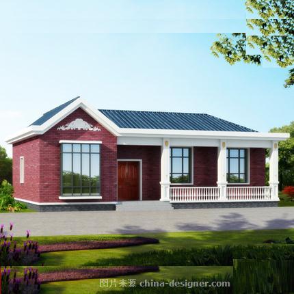 农村四合院别墅设计13594694752