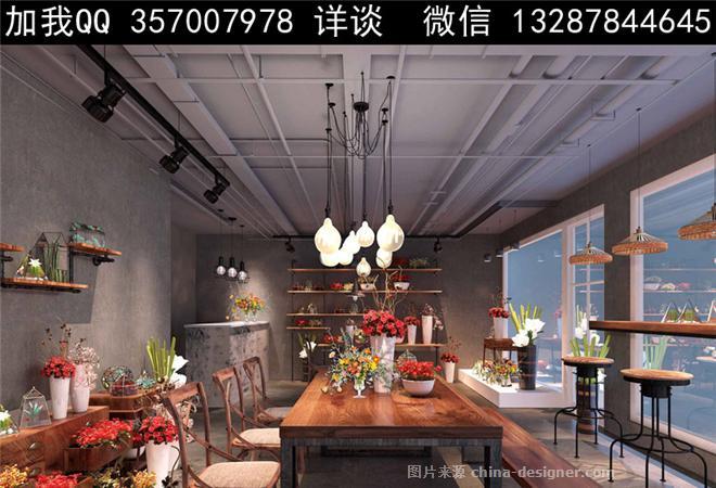 花店设计案例效果图-室内设计师93的设计师家园-702414