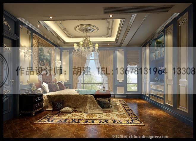 金堂绿岛别墅设计法式风格案例-胡建的设计师家园-10360,308866,2496